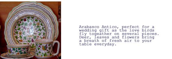 Arabasco Antico  Pattern